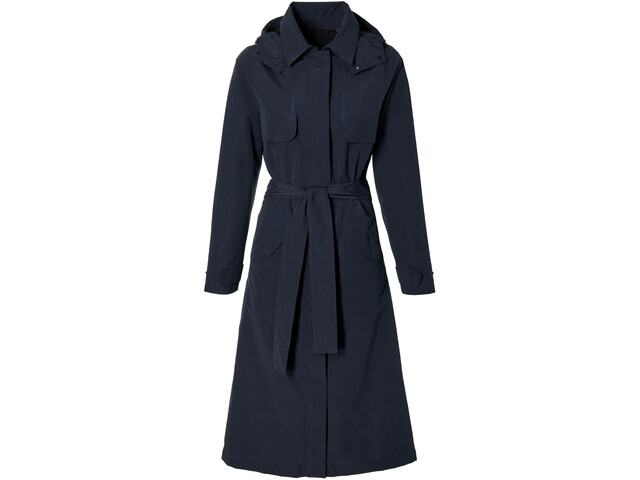 Basil Mosse Trench Antipioggia Donna, night blue